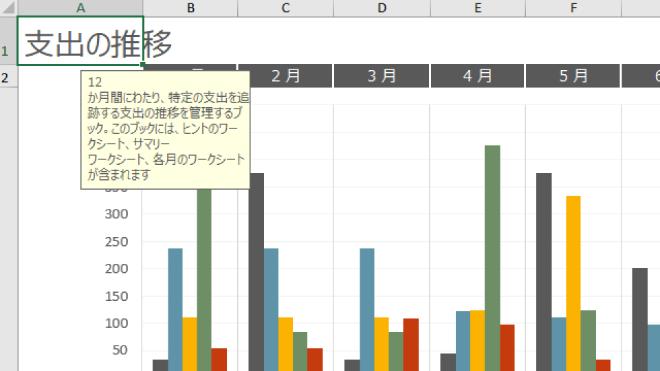 ExcelをZoomItで拡大した状態の画面