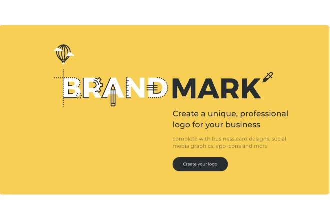 AIでロゴを自動生成できる「Brandmark」