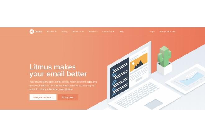 HTMLメールが確認できる「Litmus」