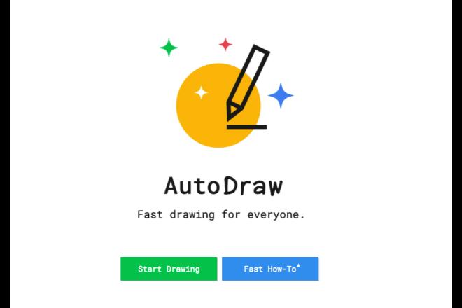 手書きのイラストを自動変換してくれる「AutoDraw」