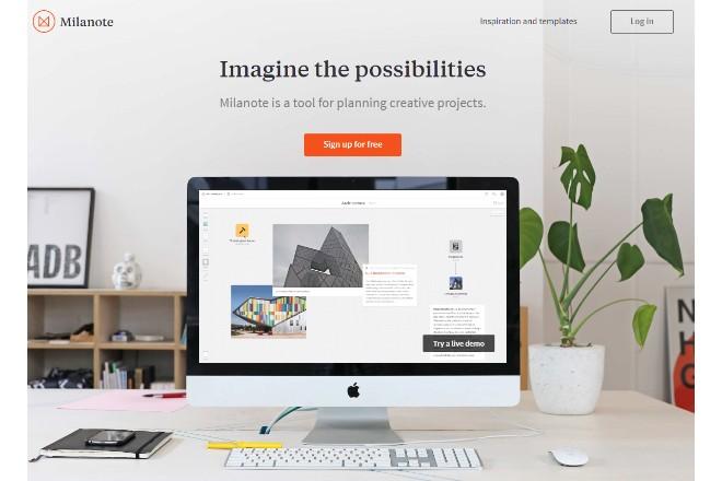 アイデア共有のためのオンラインノートサービス「Milanote」