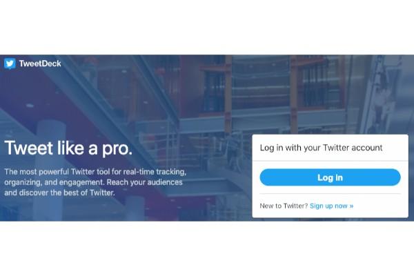 Twitterのタイムラインが一度に表示できる「TweetDeck」